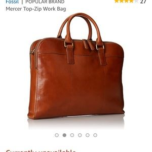 Fossil Mercer Double Zip Saddle